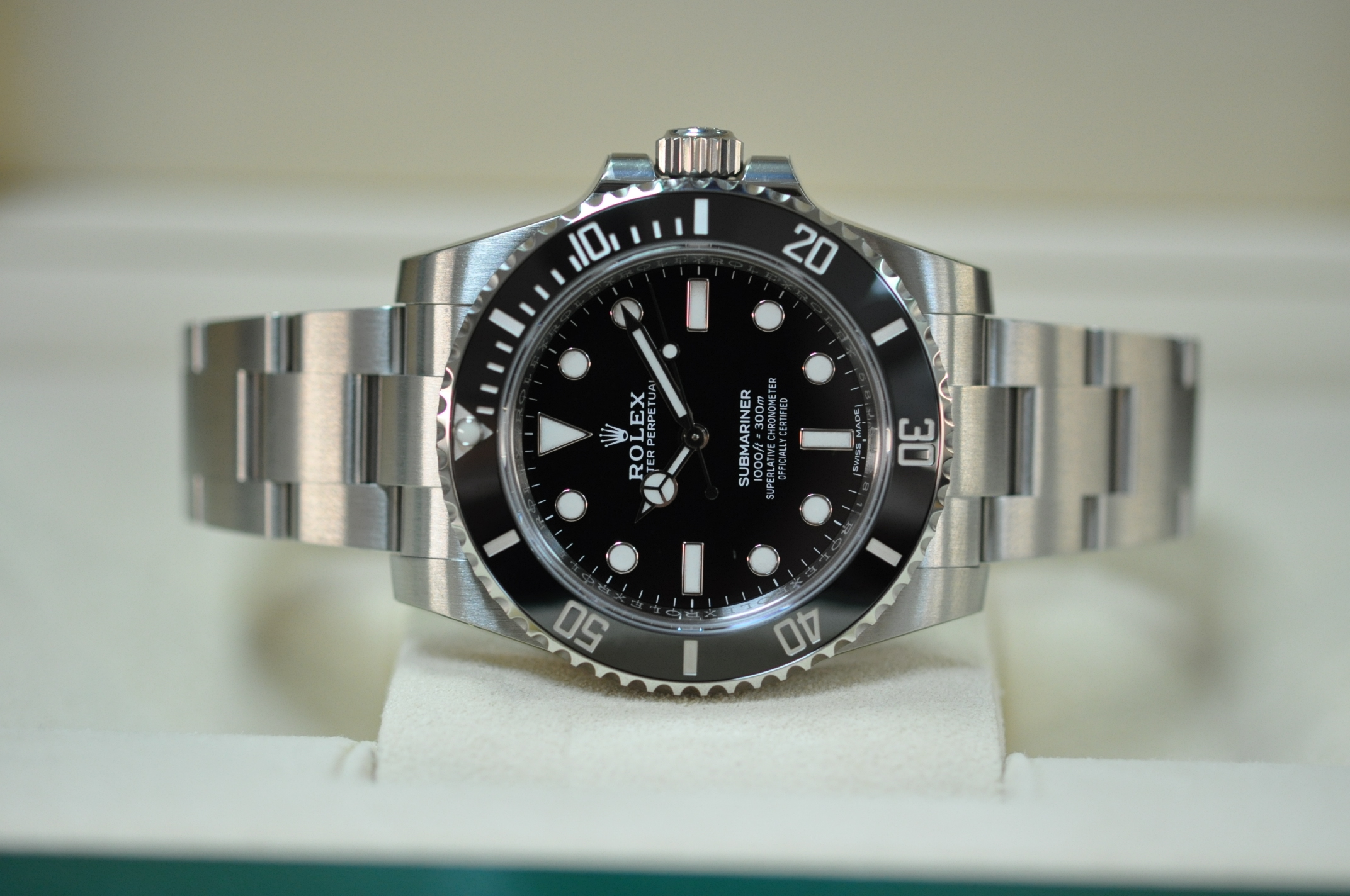2019 Unworn Submariner 114060