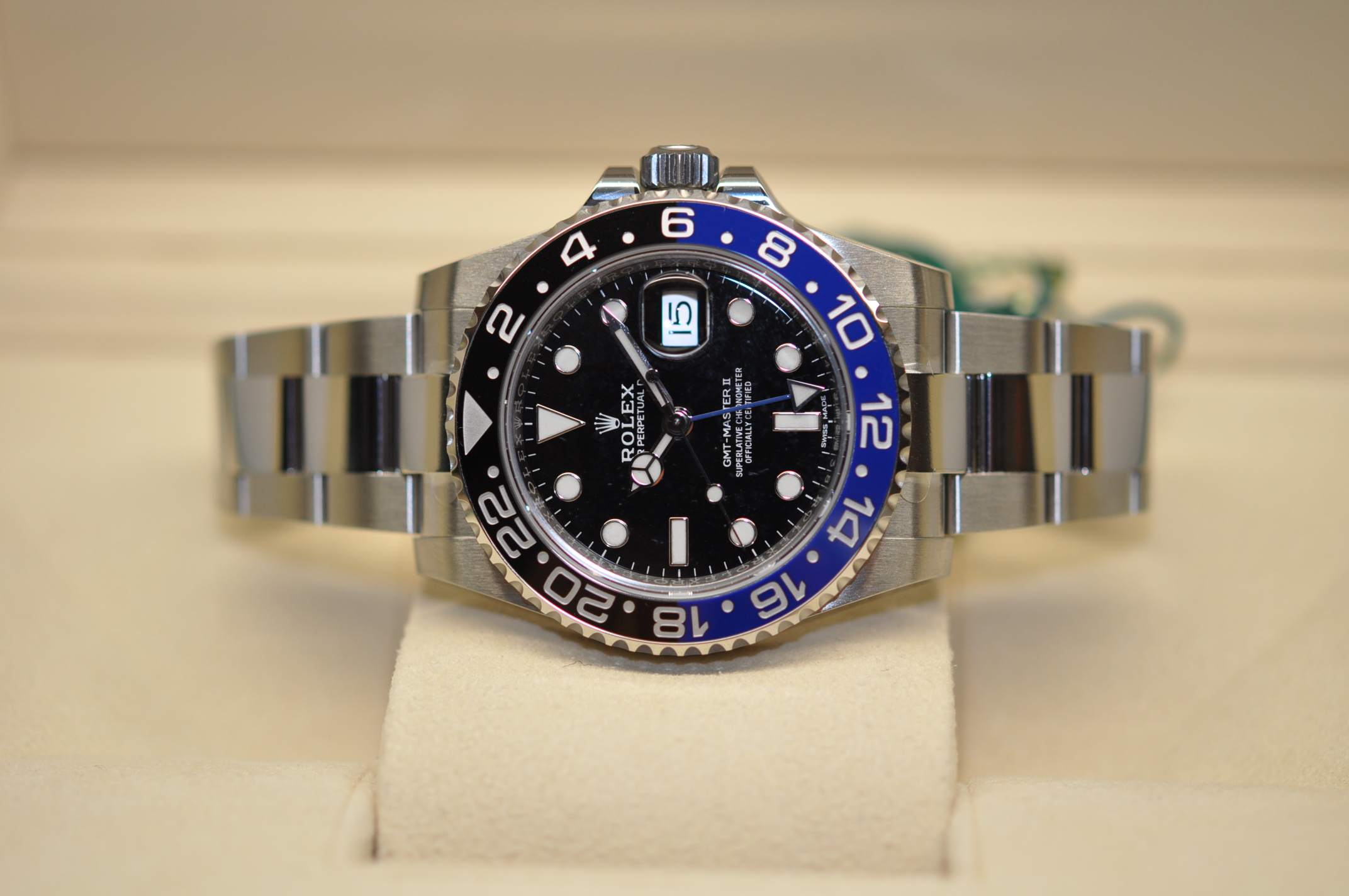 2019 New Rolex GMT-Master II 'Batman'