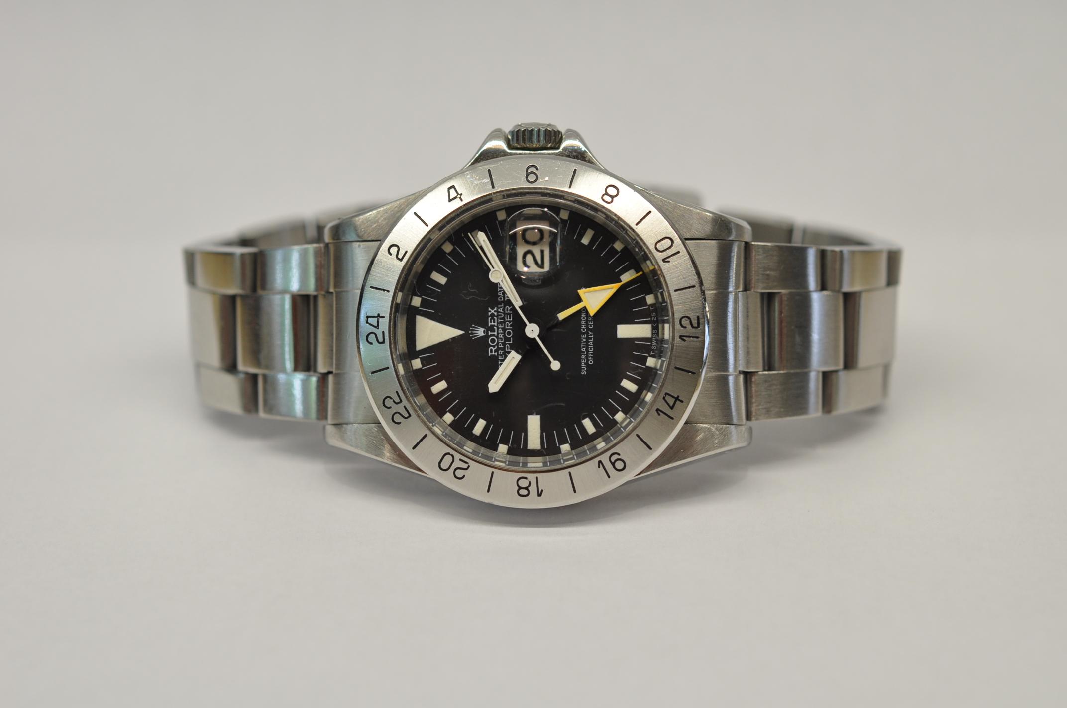 1982 Rolex Explorer II 1655/0