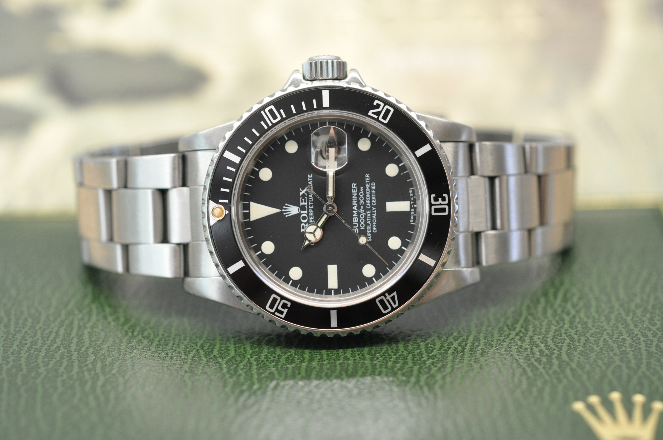 1982 Submariner-Date 'Matte dial'