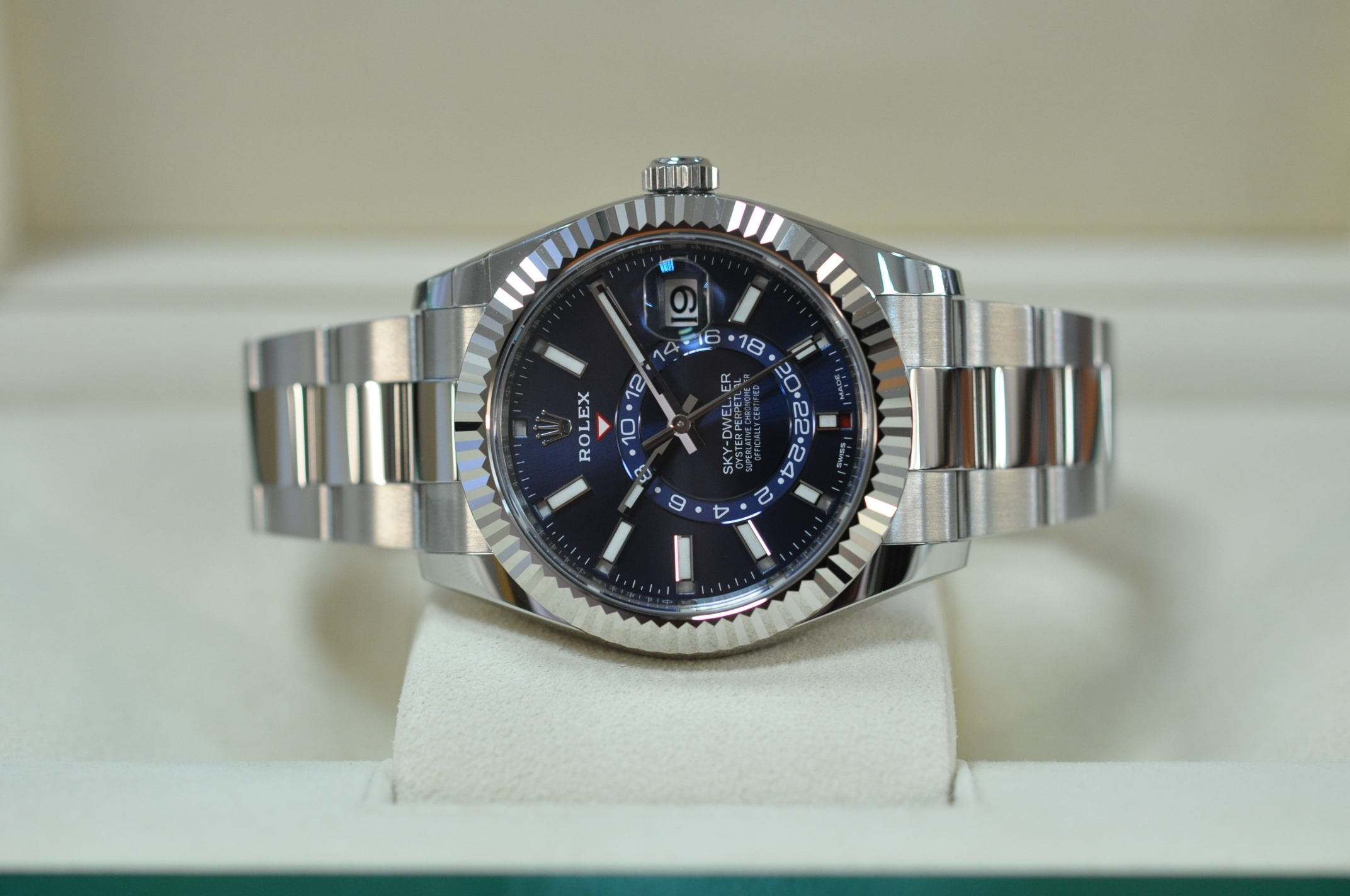 New 2020 Sky-Dweller Blue