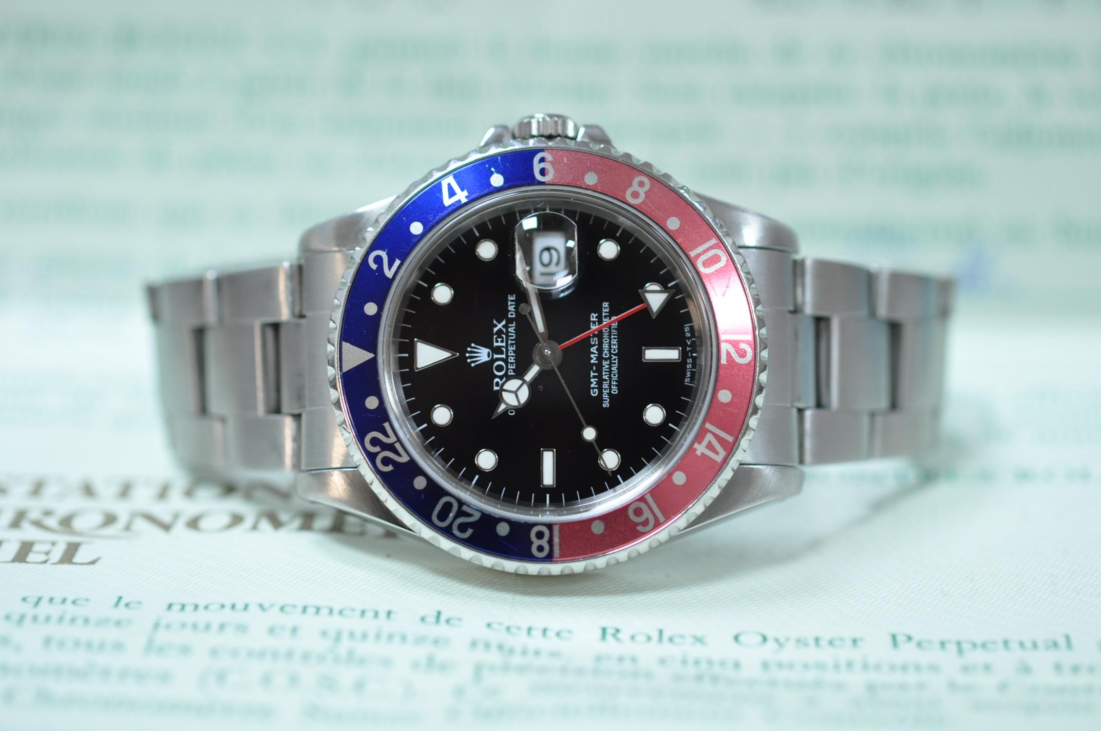 1991 GMT-Master 16700 Tritium