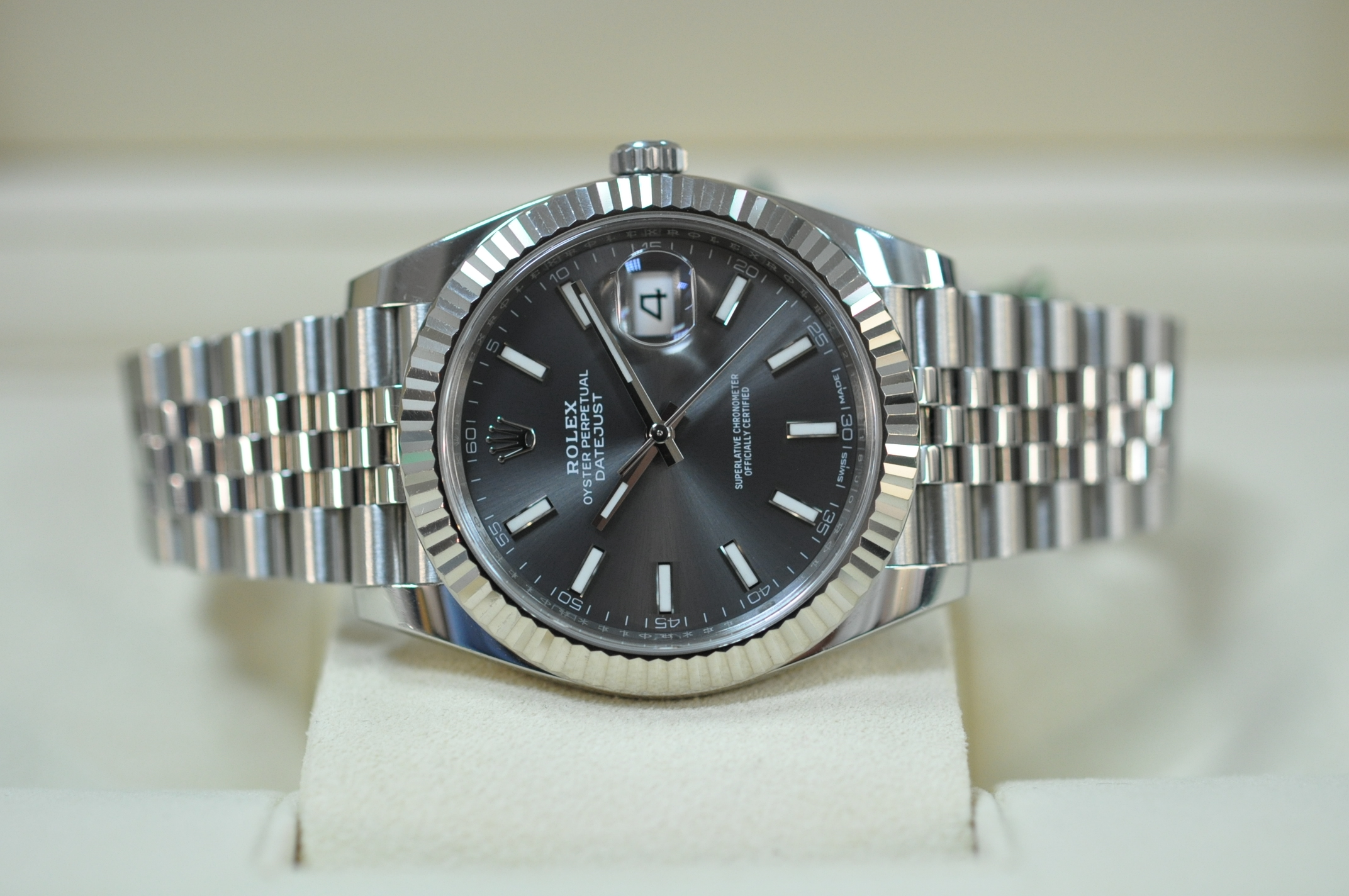 Dec 2017 Rolex Datejust 41