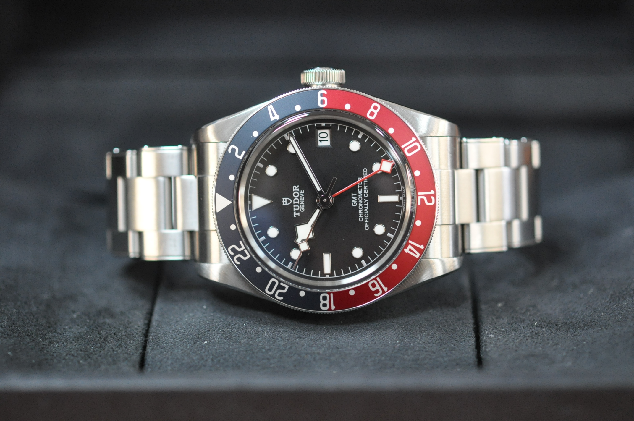 Dec 2018 Tudor Black Bay GMT