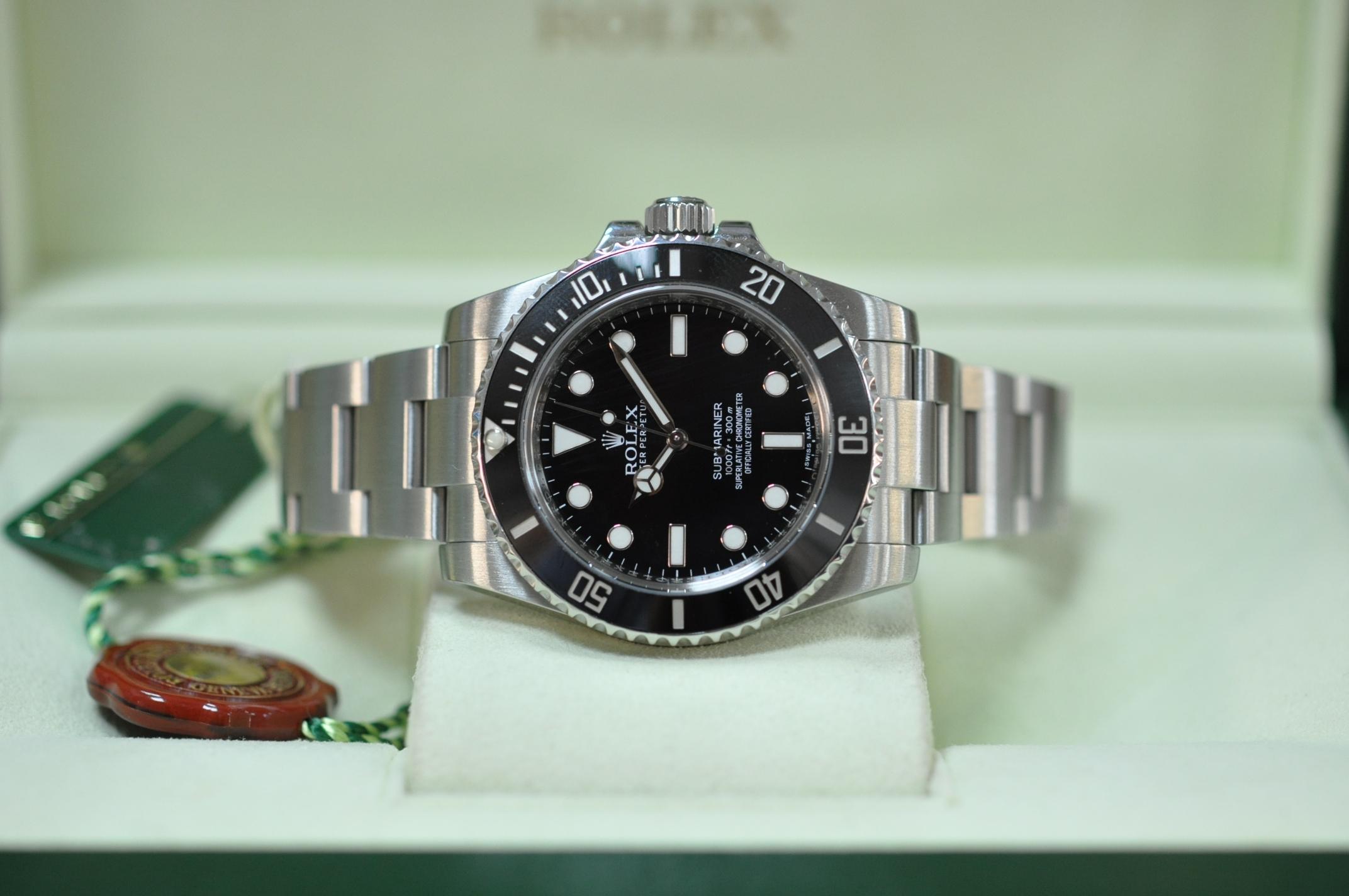 2014 Rolex Submariner 114060
