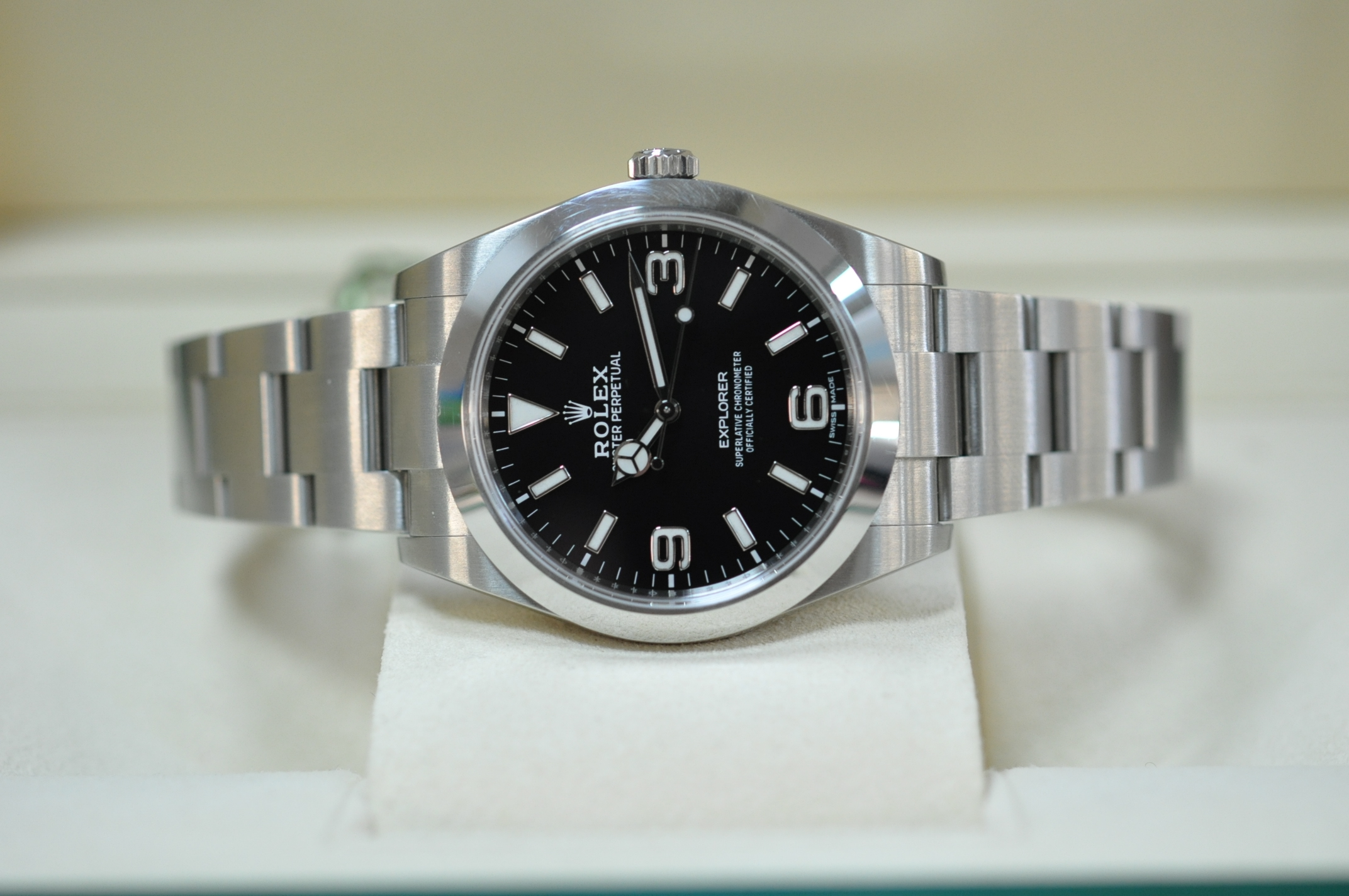 May 2018 Rolex Explorer 39mm
