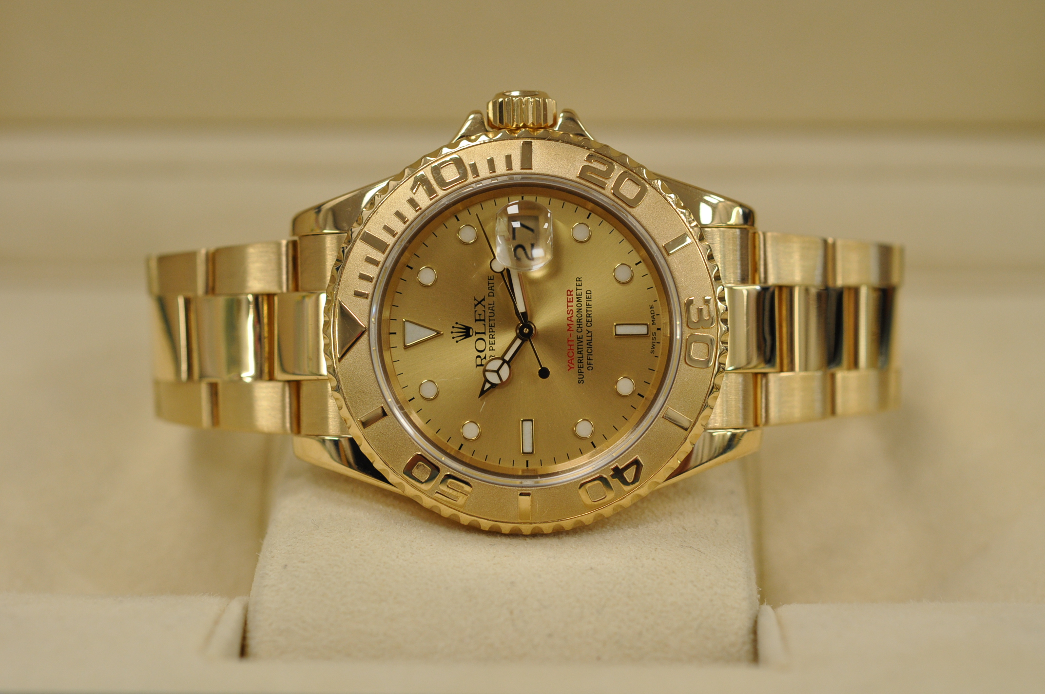 1995 18ct Yachtmaster 16628