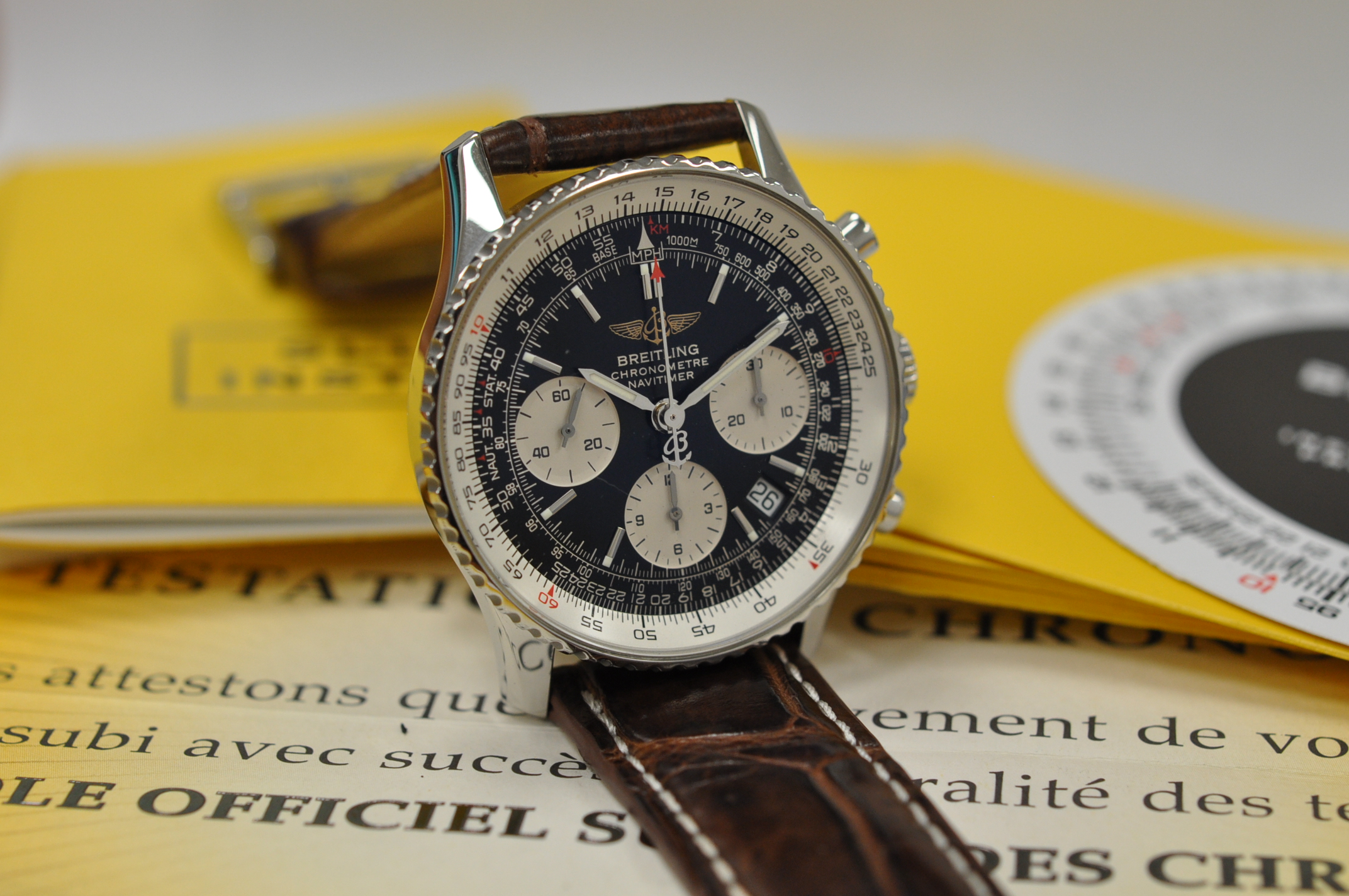 2009 Navitimer A23322 full set