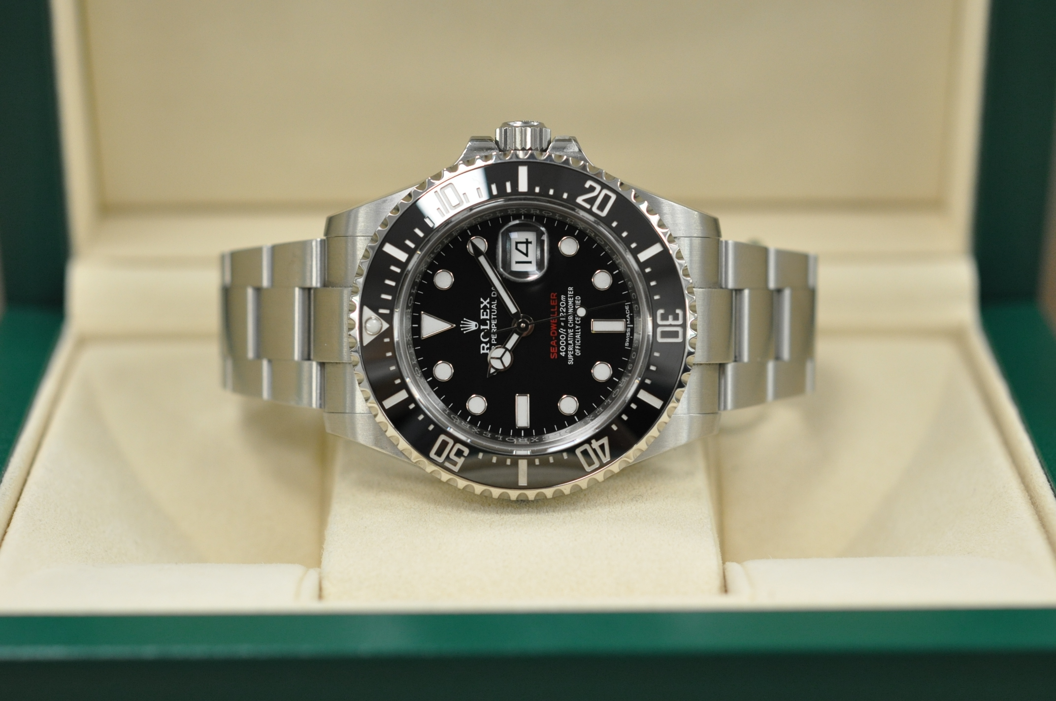 2018 Sea-Dweller 126600 Mark 1 dial