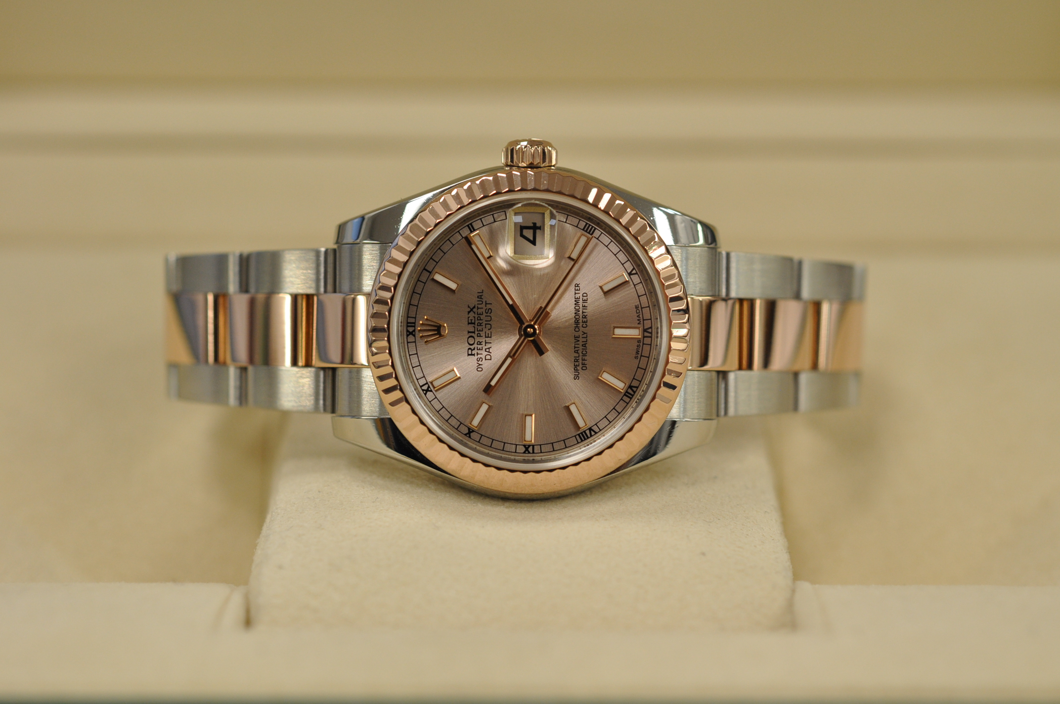 2016 Datejust 178271 Pink dial