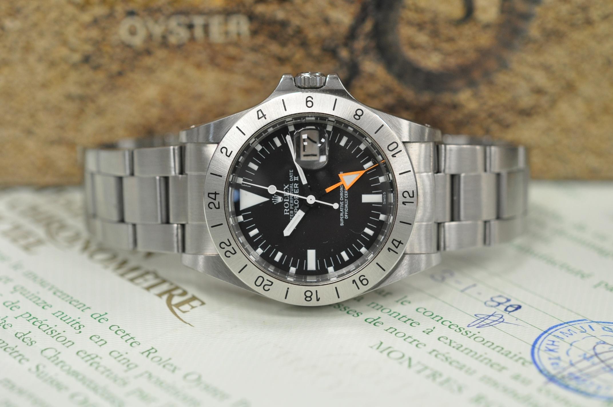 1980 Explorer II 'Orange hand' 1655/0