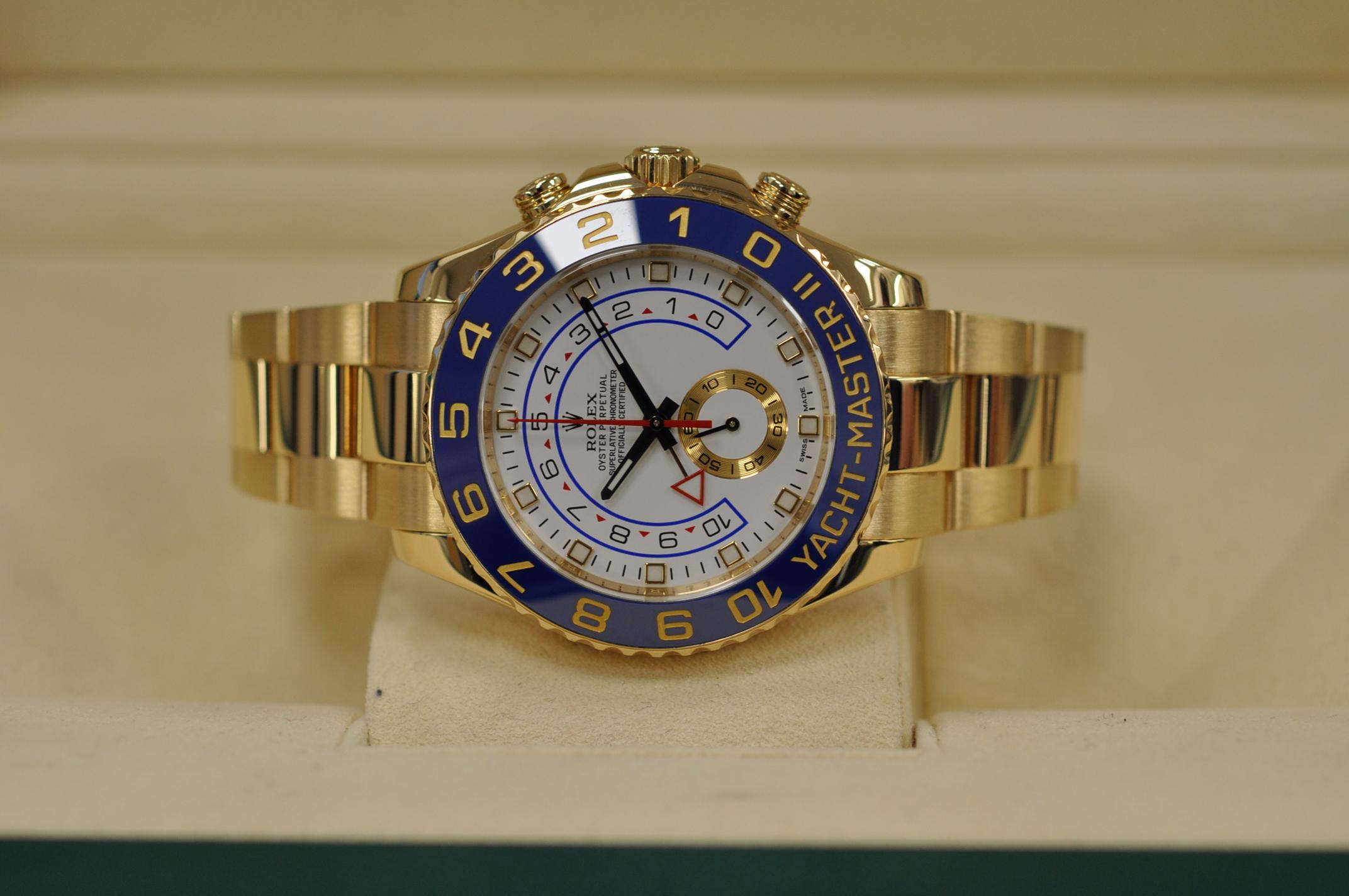 2016 Gold Yachtmaster II 116688
