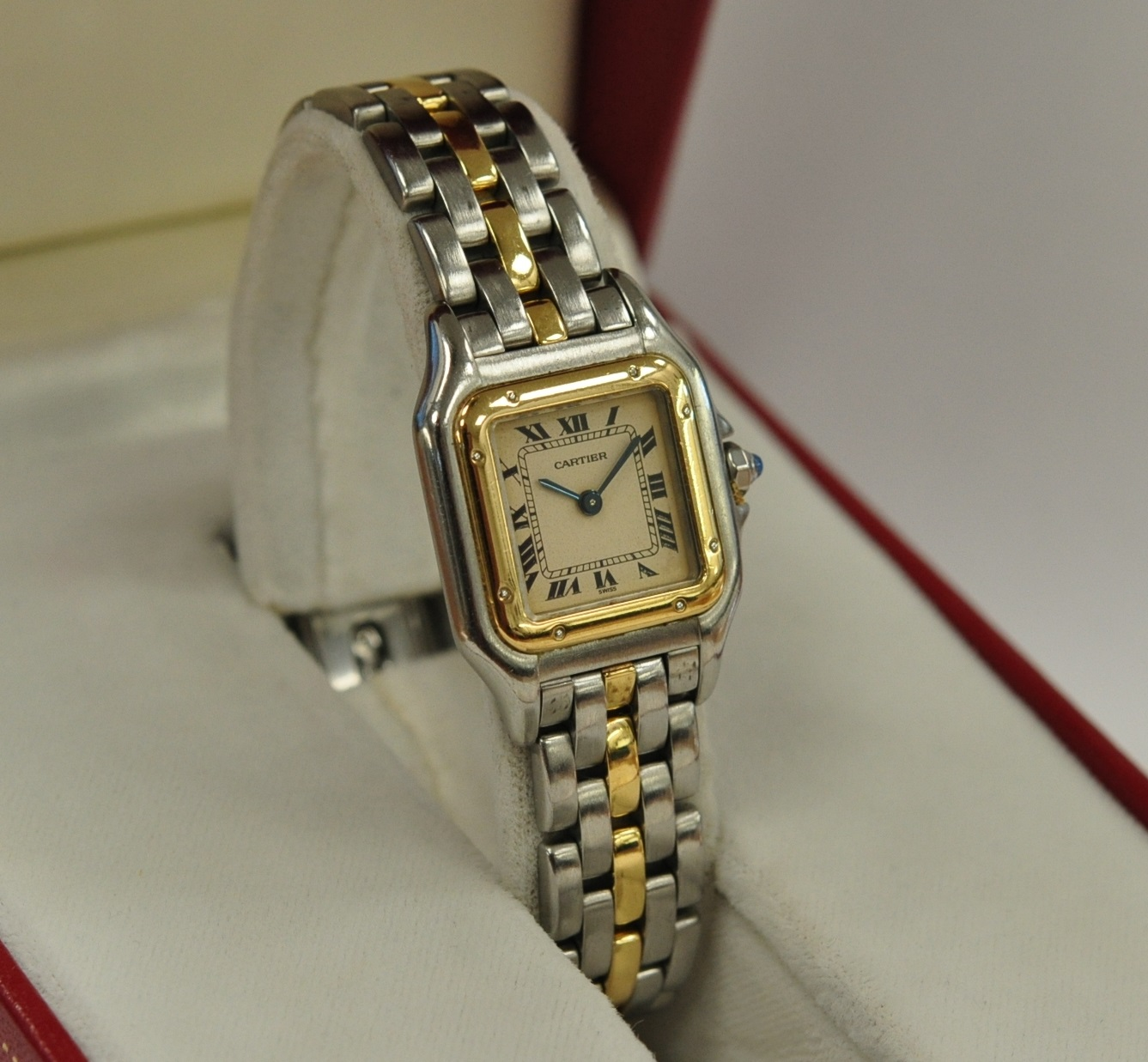 Cartier Panthere steel/gold