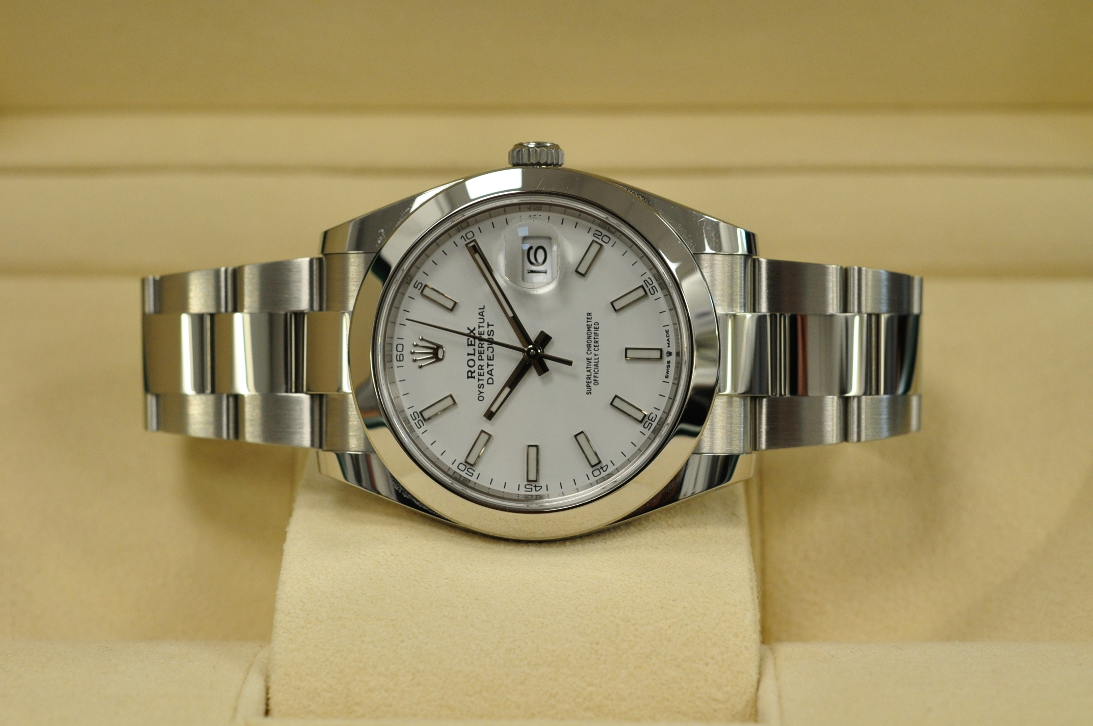 May 2021 Datejust 41 126300