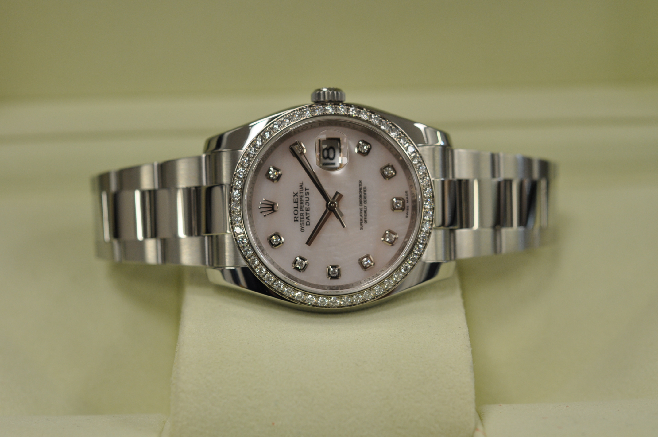 2009 Datejust Diamond dial/bezel